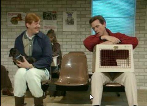Фрай и Лори - К ветеринарчику